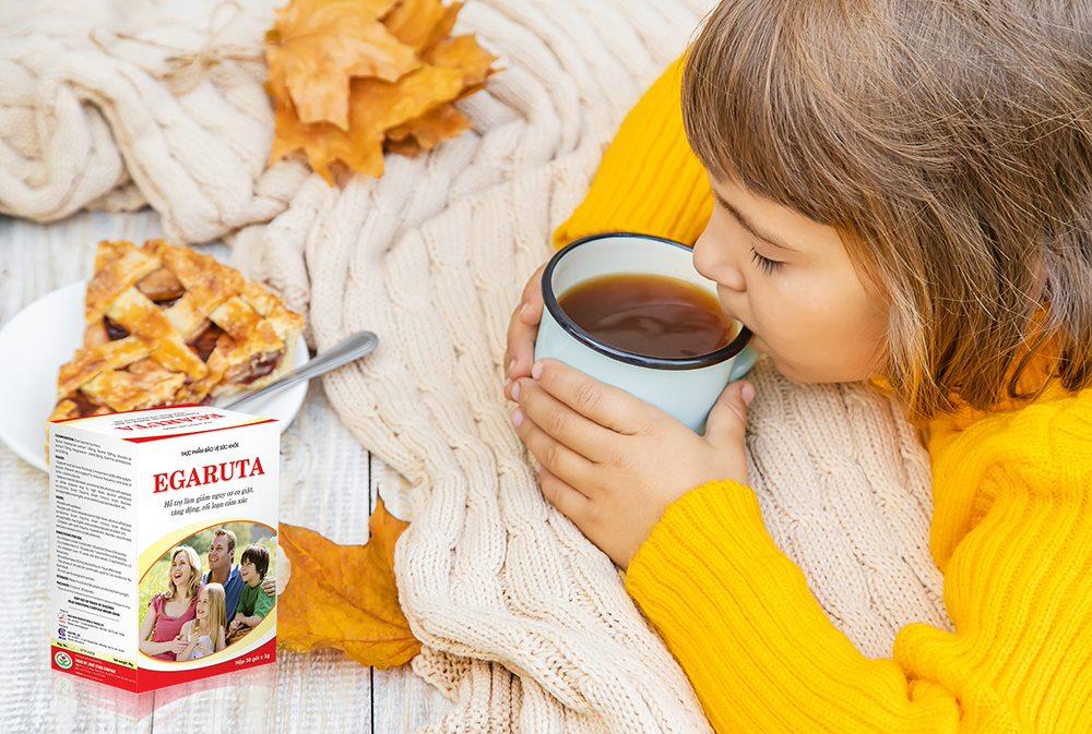 cốm Egaruta giúp trẻ cải thiện chứng tăng động giảm chú ý hiệu quả